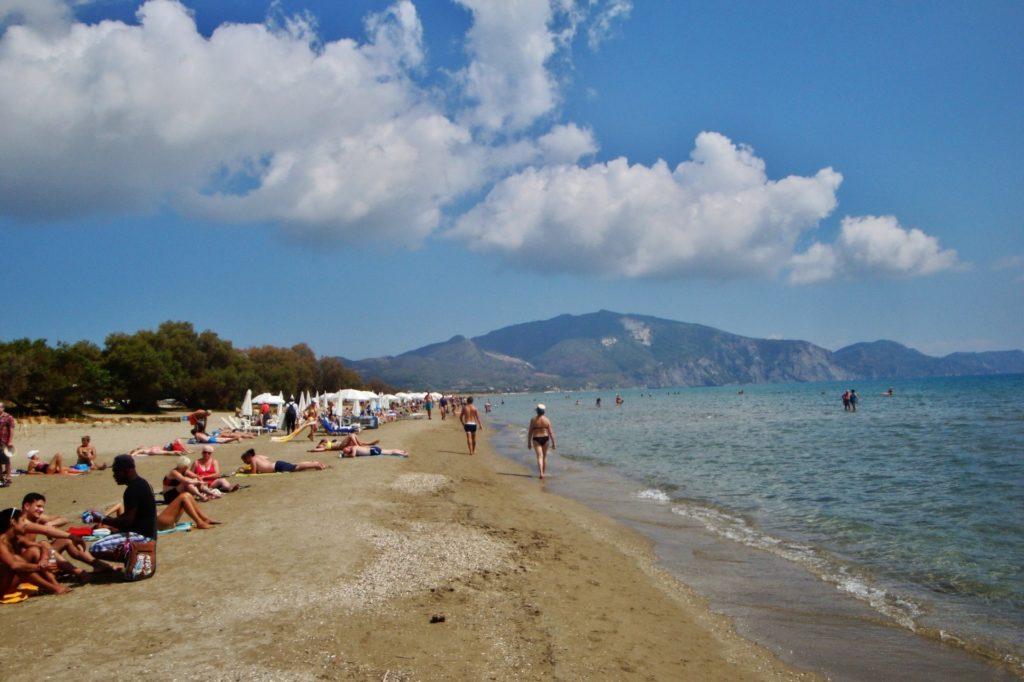 Laganas Beach auf Zakynthos