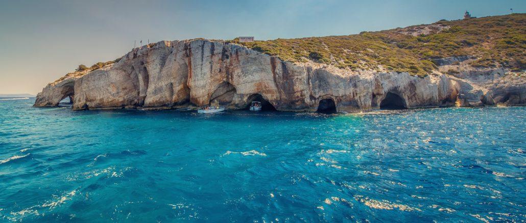 Blue Caves von Zakynthos